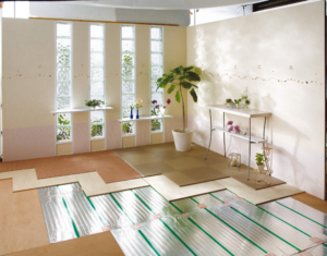 床暖房のイメージ