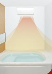 浴室暖房イメージ